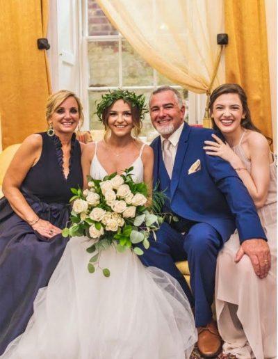 Lisa, Bride Kenli, Duane and Kaybren