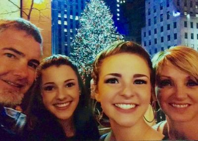 Duane, Kaybren, Kenli and Lisa in New York City