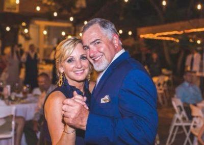 Lisa with husband Duane
